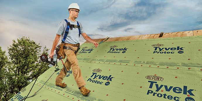 Monarch Roofing's DuPont Tyvek® Protec