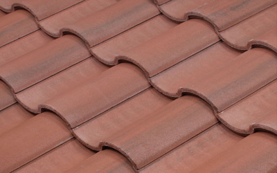 Residential Tile Roof Example